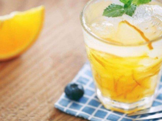 DIY一杯蜂蜜柚子茶