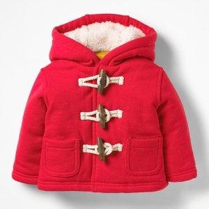 低至5折+额外8折折扣升级:Mini Boden 儿童秋冬外套大促