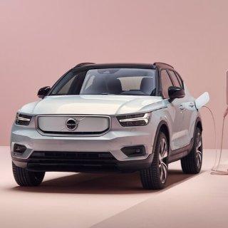 好看又安全 249英里续航首台纯电动沃尔沃发布 Volvo XC40 Recharge