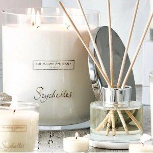 全场8折 助眠套装€10The White Company 英国小众香氛蜡烛闪促专场 超美英式极简风