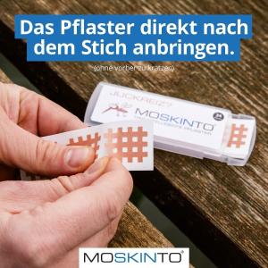 €4.75收24片 孕妇儿童可用Moskinto 德国止痒黑科技 蚊虫叮咬 一贴止痒 成分安全