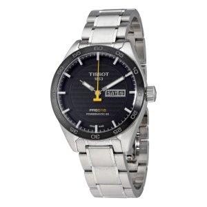 TissotPRS 516 Automatic Black Dial Men's Watch T100.430.11.051.00