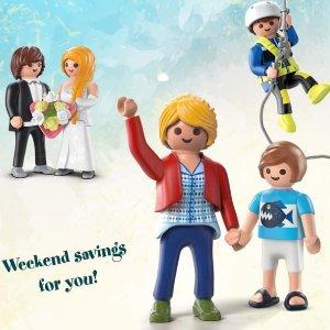 满$50享7.5折Playmobil 德国儿童创造性拼装玩具总统日特惠 让生活在别处