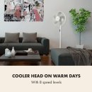 €54.99  (原价€129.99)Klarstein 立式电风扇热卖 让你清凉一夏