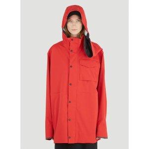 Canada GooseNanaimo Rain Jacket in Red