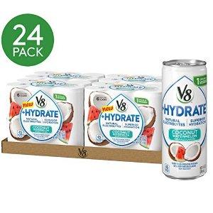 现价$11.14(原价$15.92) 一罐仅$0.47V8 补水电解质水果饮料 多口味可选 24罐装