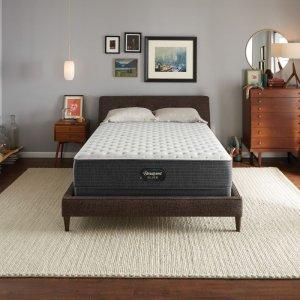 Queen 仅$599 免费运输+入户安装Simmons 席梦思Beautyrest 睡美人银标13.5寸超硬床垫