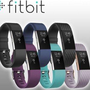 $159.95(原价$199.95)Fitbit Charge 2 心率检测多功能运动手环 (多色)