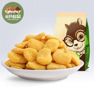 Three Squirrels蟹香蚕豆205g 特产坚果炒货蟹黄味