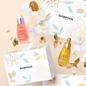 低定价+7.5折+送正装护手霜法国打折季2021:Darphin官网 礼盒专场 小粉瓶4件套€67.5(价值€112)
