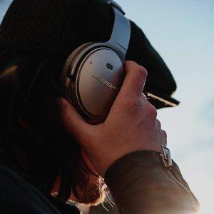 $351(原价$499)微软发货,耳机界扛把子近期好价:Bose QC35 II 主动降噪无线耳机 3色可选