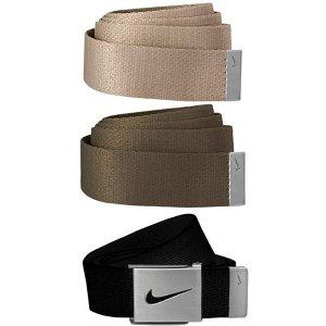 $16.16(原价$20.00)Amazon官网 Nike男士腰带 3条装