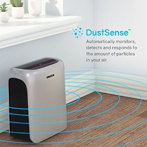 $127Oreck WK16000 Air Response HEPA Purifier with Odor Control & Auto Mode for Small Rooms (Available in 3 Sizes)