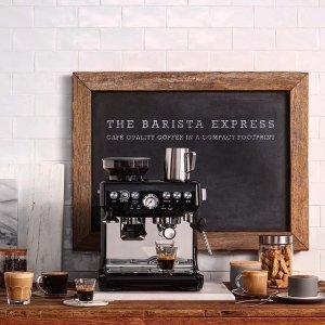 $549.99(原价$799.99)+免邮Breville 铂富 半自动家用意式咖啡机 咖啡机中的战斗机