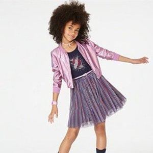 低至$3.99macys.com 儿童服饰、鞋履特卖 白菜价童衣真不少