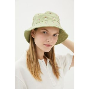 Urban OutfittersEmbroidered Icon Bucket Hat