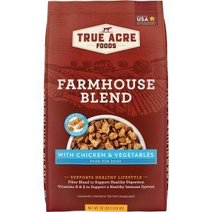 True Acre Foods鸡肉味狗粮30磅