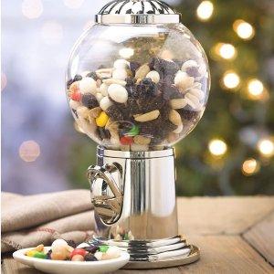 史低价:Godinger 糖果坚果弹力球扭蛋机,宅家转糖的快乐