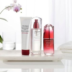15% Off with Shiseido Purchase @ macys.com