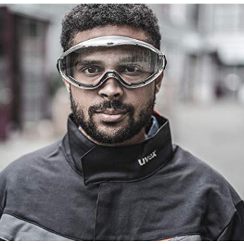 冠状病毒疫情严峻 大家保护自己 保护好身边的家人3M 防飞沫防UV护目镜 防止飞沫进入眼睛