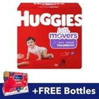 Huggies 纸尿裤 (Size 5, 124片)+液体奶6瓶