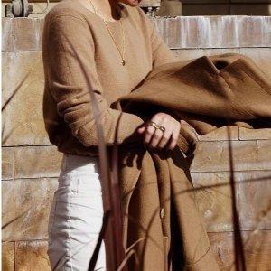 低至4折+额外7折  温暖迎秋冬Saks OFF 5TH 女士羊绒毛衣、羊毛外套热卖