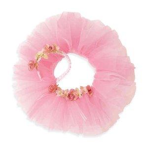 Pink Flower Tutuband with Headband