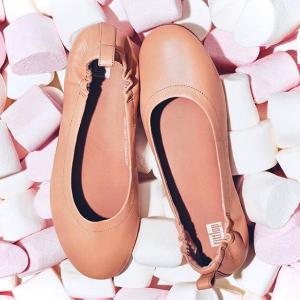 4折起+最高额外7.5折Fitflop 美鞋特卖 芭蕾鞋$45 真皮皮鞋$67 双脚云端体验