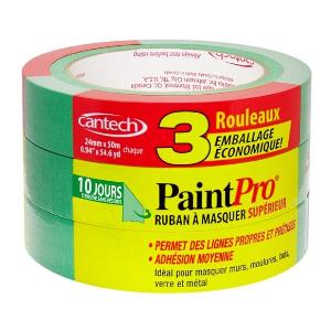 $3.34(原价$11.49)PaintPro 0.94-in 涂漆粉刷专用多功能胶带3卷装