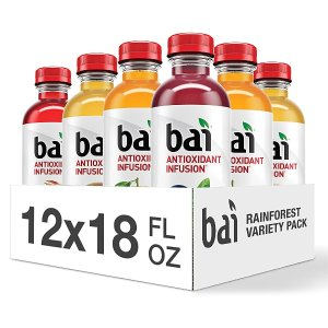 $10.07Bai Flavored Water, Rainforest Variety Pack 12 Count