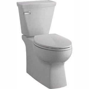 DELTARiosa Select 2-Piece 1.28 GPF Single Flush Elongated Toilet in White