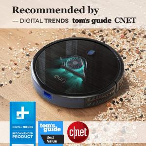 7.5折后仅€149限今天:eufy by Anker 扫地机器人 超薄静音 吸力强大 地板地毯适用