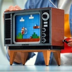 已上市 售价€229.99LEGO 超级玛丽系列 NES 任天堂红白机 71374