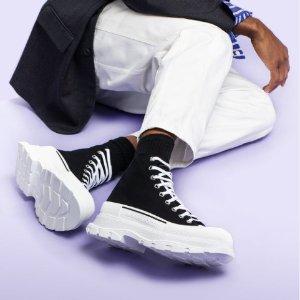 5折起+8.5折!GGDB黑尾£299独家:TheDoubleF 鞋靴大促 Gucci、麦昆、BLCG、JC等大牌速收