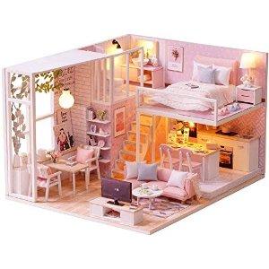粉色 loft公寓
