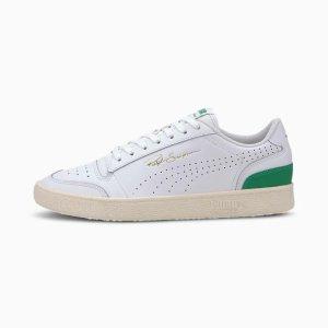Puma绿尾平底鞋