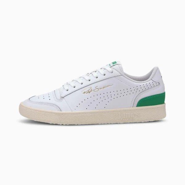 绿尾平底鞋