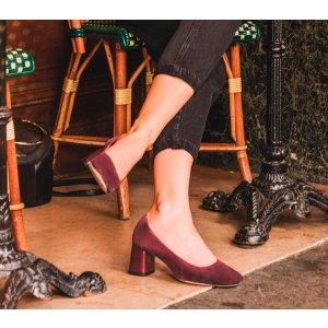 Repetto粗跟鞋