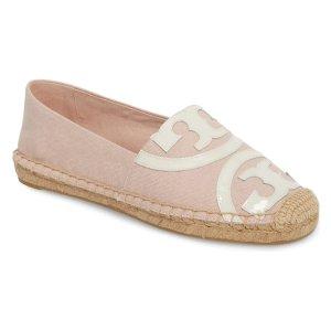 樱花粉渔夫鞋