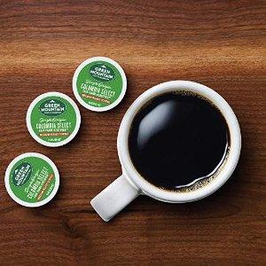 $20.86 每颗只需$0.29白菜价:Green Mountain K-Cup K-cup 咖啡胶囊 72粒装