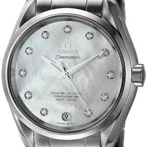 Extra $120 offOMEGA Seamaster Aqua Terra Automatic Ladies Watch 23110392155002