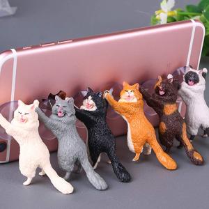 £3.99 六只猫咪为您服务Amazon 精选魔性小猫手机支架 真正猫奴在此