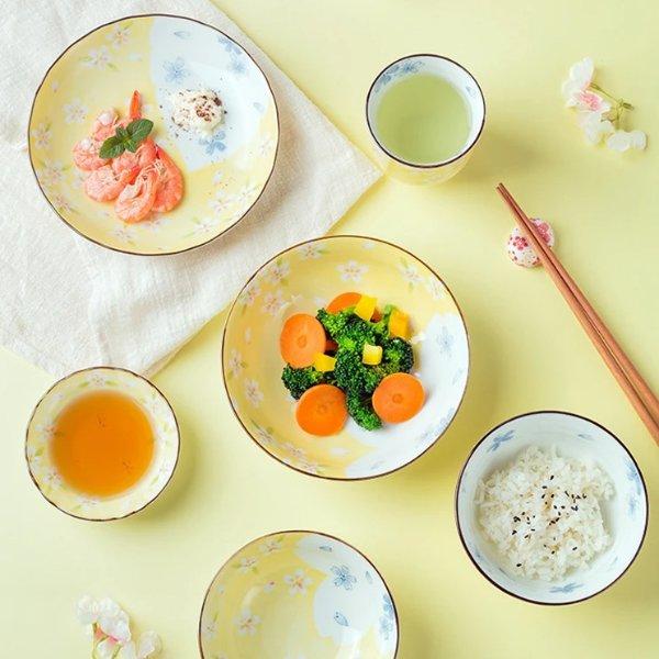 京樱餐具6件套 日本制造 美仓发货