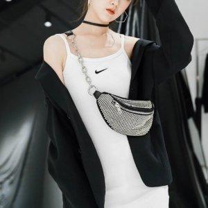 无门槛7折 €70收logoT恤Alexander Wang 春季限时闪促 水钻包、绸缎包、连衣裙好价