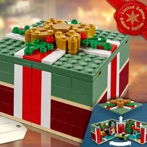Last Day: Free Holiday PresentWith $99+ Purchase & Up to 30% Off Black Select Sets  Friday Sale @ LEGO Brand Retail