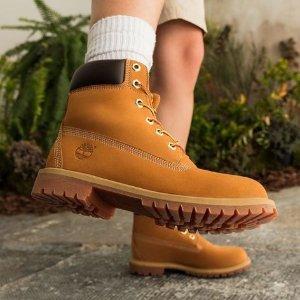 额外6.3折+免邮Timberland 奥莱区春季热促继续 百搭实用大黄靴