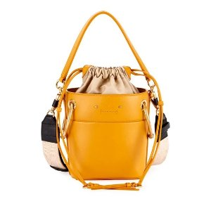 ChloeBuy 3 sale items, get this one $726Roy Mini Smooth Leather Bucket Bag