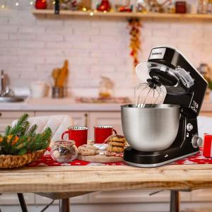 $139.98包邮(原价$189.99) 三款配件CUSIMAX 厨师机、搅拌机 4.7升不锈钢盆 香喷喷小助手