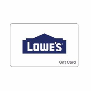 $45$50 Lowe's 电子礼卡 邮件送达