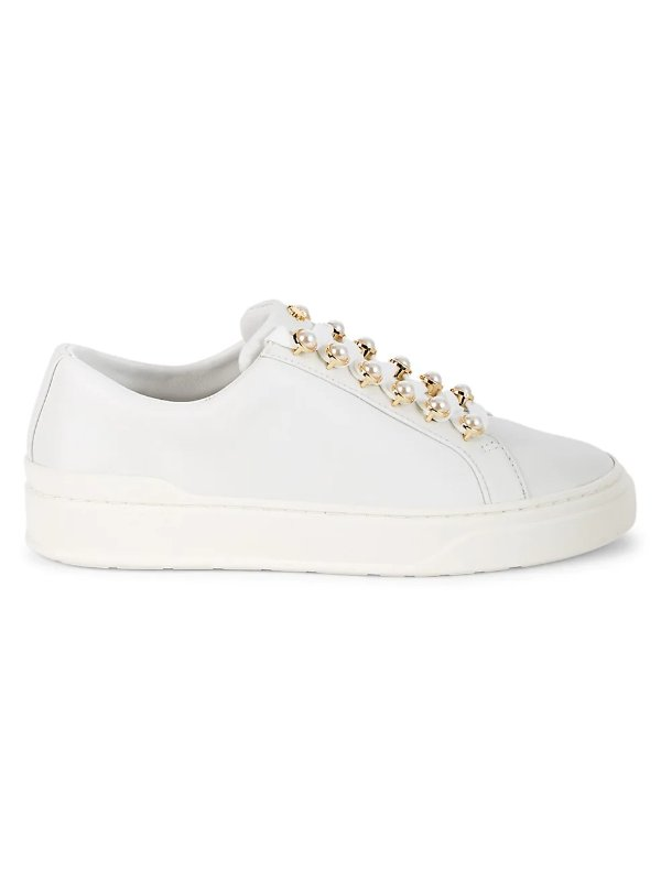 珍珠小白鞋